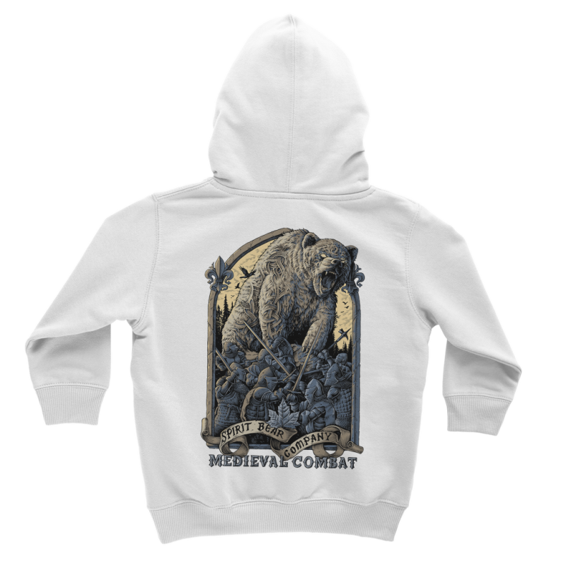 Spirit Bear Company - Medieval Combat Classic Kids Hoodie - Apparel Apparel Spiritbear