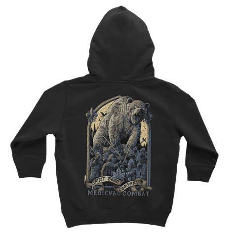 Image of Spirit Bear Company - Medieval Combat Classic Kids Hoodie - Apparel Apparel Spiritbear