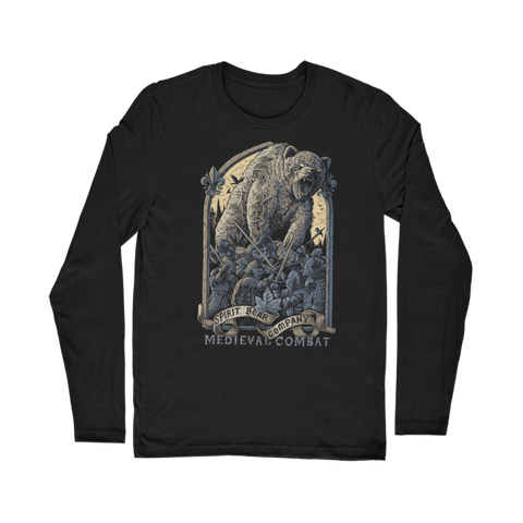 Image of Spirit Bear Company - Medieval Combat Classic Long Sleeve T-Shirt - Black / Unisex / S - Apparel Apparel Spiritbear