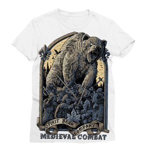 Spirit Bear Company - Medieval Combat Classic Sublimation Womens T-Shirt - Xs - Apparel Apparel Spiritbear