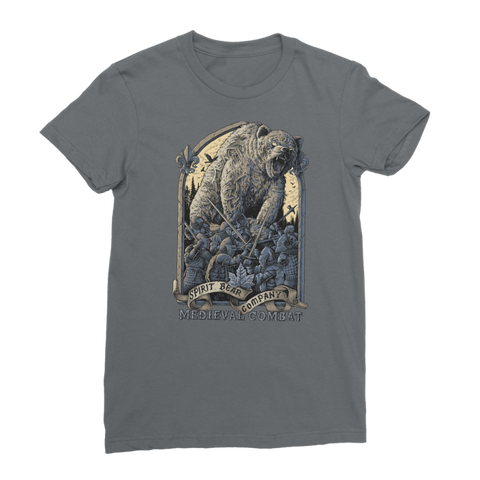 Spirit Bear Company - Medieval Combat Classic Womens T-Shirt - Dark Grey / Female / S - Apparel Apparel