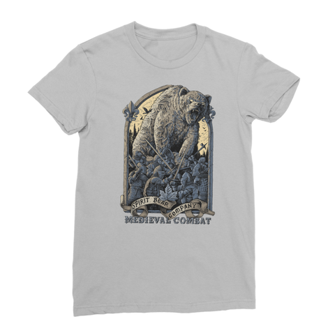 Spirit Bear Company - Medieval Combat Classic Womens T-Shirt - Light Grey / Female / S - Apparel Apparel