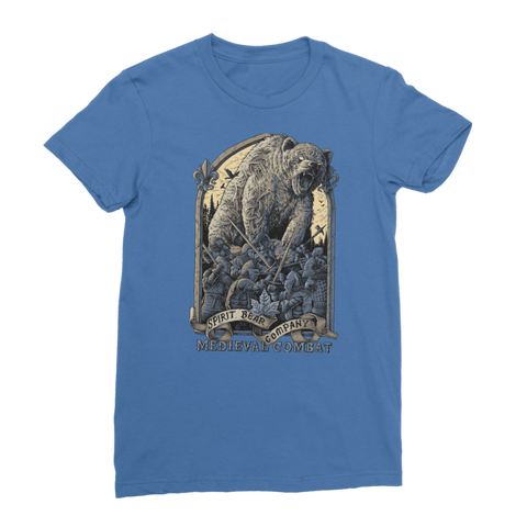 Spirit Bear Company - Medieval Combat Classic Womens T-Shirt - Royal Blue / Female / S - Apparel Apparel