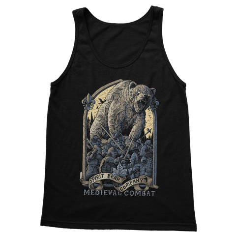 Image of Spirit Bear Company - Medieval Combat Classic Womens Tank Top - Black / S - Apparel Apparel