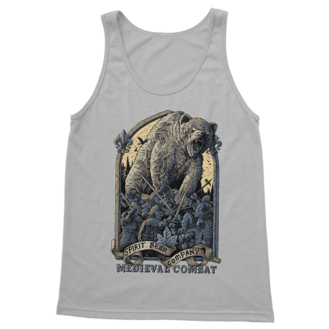 Image of Spirit Bear Company - Medieval Combat Classic Womens Tank Top - Light Grey / S - Apparel Apparel