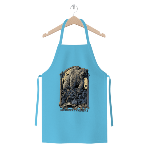 Image of Spirit Bear Company - Medieval Combat Premium Jersey Apron - Light Blue - Apparel Apparel