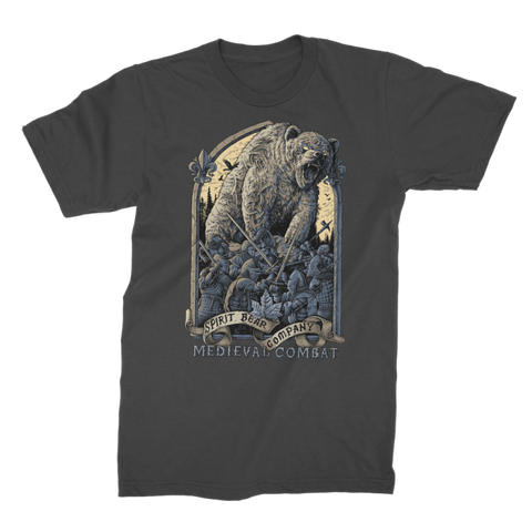 Image of Spirit Bear Company - Medieval Combat Premium Jersey Mens T-Shirt - Black / Male / S - Apparel Apparel