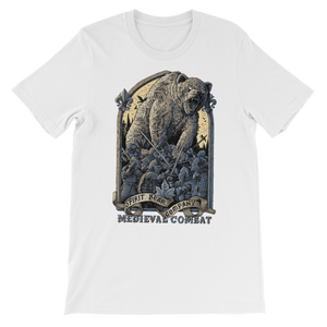 Spirit Bear Company - Medieval Combat Premium Kids T-Shirt - White / 3 To 4 Years - Apparel Apparel Spiritbear