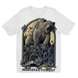 Spirit Bear Company - Medieval Combat Sublimation Kids T-Shirt - 3 To 4 Years - Apparel Apparel Spiritbear
