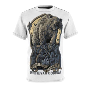 Spirit Bear Company - Medieval Combat T-Shirt - 4 Oz. / White Seams / L - All Over Prints All Over Print Mens Clothing Spirit Bear Company