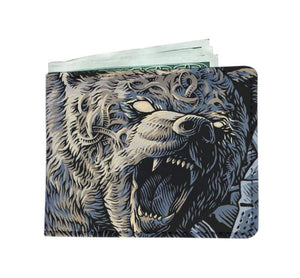 Spirit Bear Company Mens Wallet - Mens Wallet Mens Spirit Bear Company Wallets
