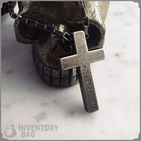 Image of Stainless Steel Cross - Jewelry Knights Necklace