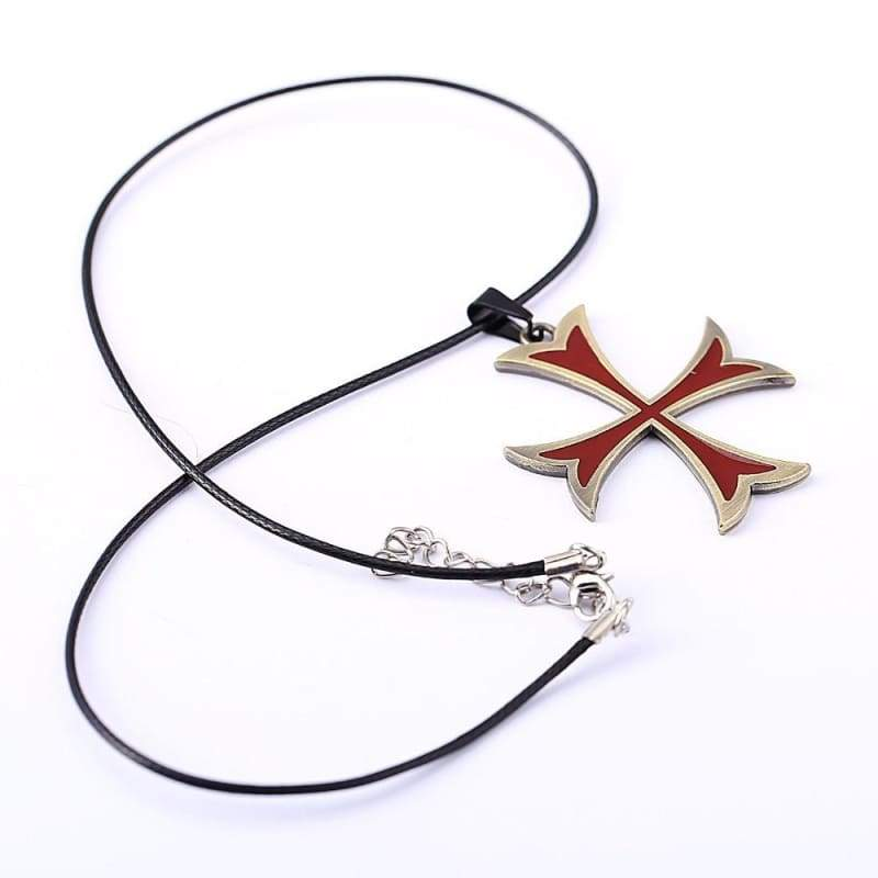 Templar Cross Pendant - Pendant Necklaces Jewelry Knights Necklace