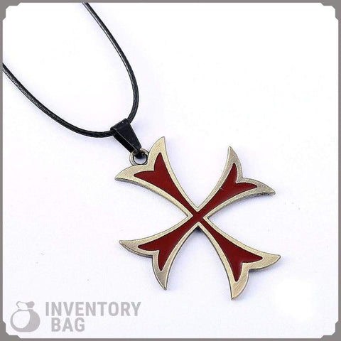 Image of Templar Cross Pendant - Pendant Necklaces Jewelry Knights Necklace
