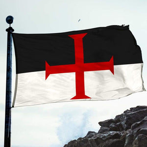 Templar Flag - Flags Banners & Accessories Flag Flags