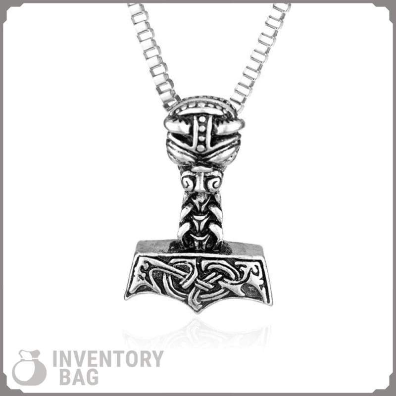 Thors Hammer - Viking Necklace Jewelry Necklace Vikings