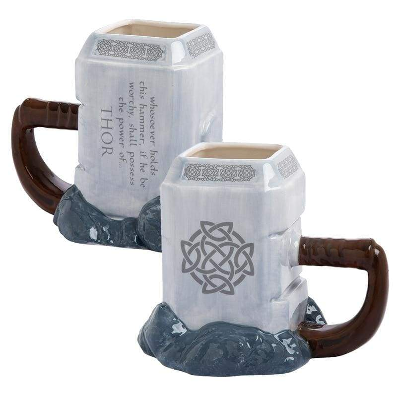 Thors Mjolnir Mug Limited Time - Costume Props Drinkware