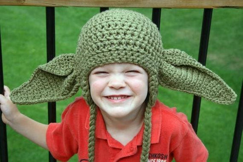Toddler Crochet Viking Hat With Beard - As Photo15 / S - Hats & Caps