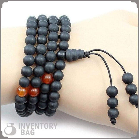 Traditional Black Stone Massage Tool - Bracelet Samurai
