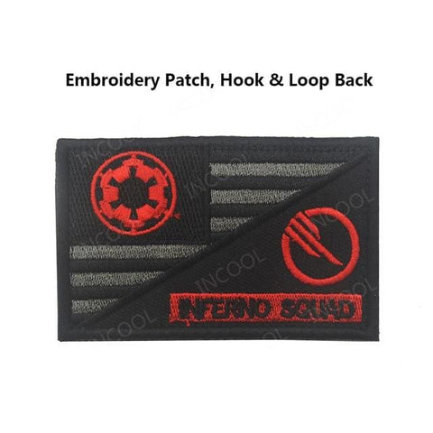 Usa Templar Knight Patches - 3Embroidery Hoo Look - Patches Patches