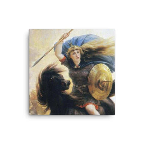 Image of Valkyrien Peter-Nicolai Arbo - 12×12 - Canvas Vikings