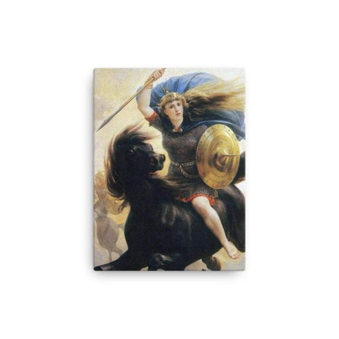 Image of Valkyrien Peter-Nicolai Arbo - 12×16 - Canvas Vikings