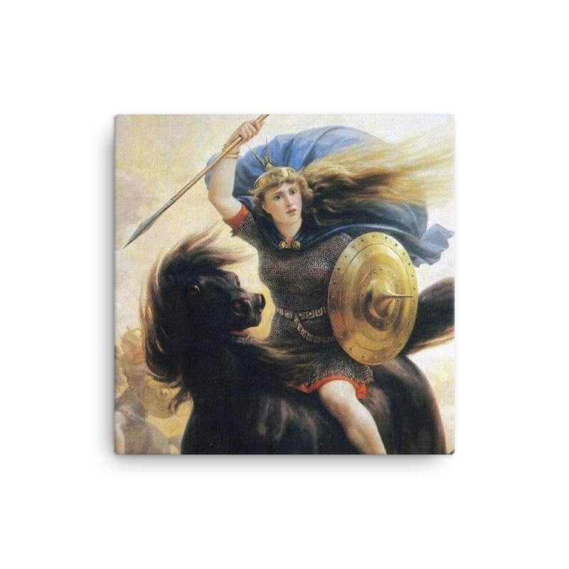 Valkyrien Peter-Nicolai Arbo - 16×16 - Canvas Vikings