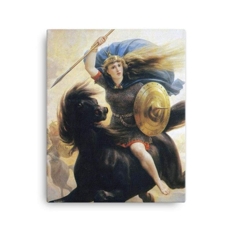 Valkyrien Peter-Nicolai Arbo - 16×20 - Canvas Vikings