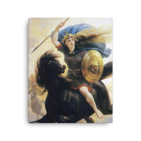 Image of Valkyrien Peter-Nicolai Arbo - 16×20 - Canvas Vikings