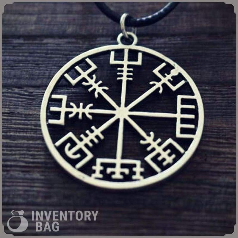 Vegvisir Compass Pendant - Viking Necklace Jewelry Necklace Vikings