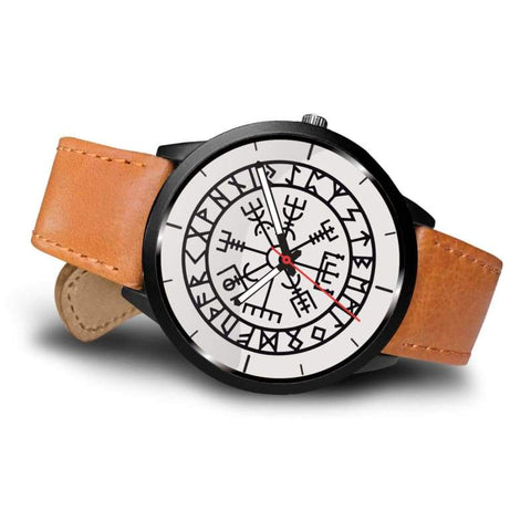 Image of Vegvisir Viking Compass White Watch - Watch Vikings Watch