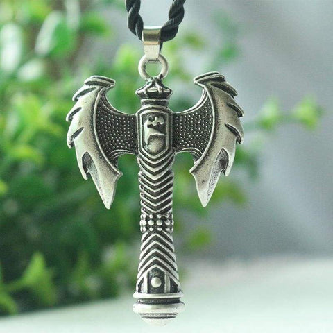 Image of Viking Axe Weapon - Pendant Necklaces Jewelry Vikings