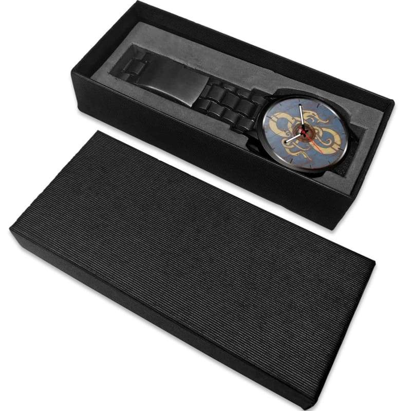 Viking Dragon Shield Watch - Watch Viking Watch
