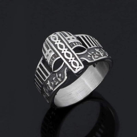 Image of Viking Helmet Ring - Rings Rings Vikings