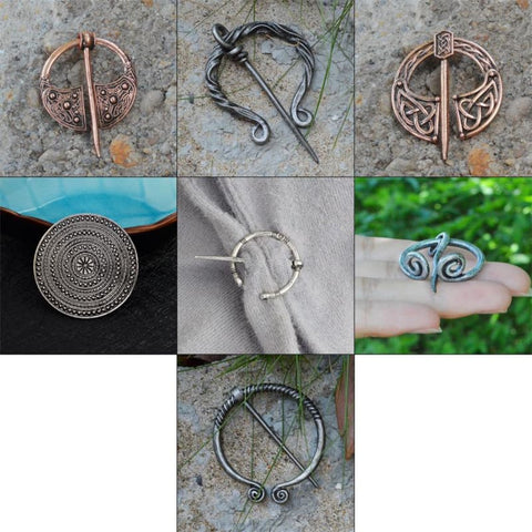 Image of Viking & Medieval Brooch Collection - Brooches Apparel Viking