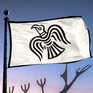Viking Raven Flag - Flags Banners & Accessories Flag Flags