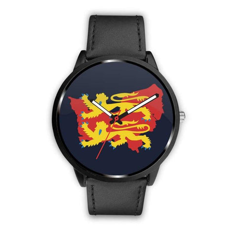 Image of Vikings - Norman Descendants Watch - Mens 40Mm / Black - Watch Vikings Watch