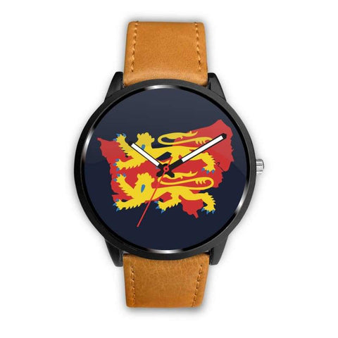 Image of Vikings - Norman Descendants Watch - Mens 40Mm / Brown - Watch Vikings Watch