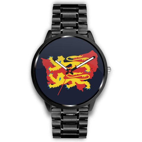 Image of Vikings - Norman Descendants Watch - Mens 40Mm / Metal Link - Watch Vikings Watch