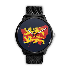 Vikings - Norman Descendants Watch - Mens 40Mm / Metal Mesh - Watch Vikings Watch