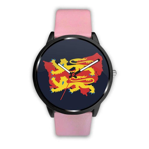 Image of Vikings - Norman Descendants Watch - Mens 40Mm / Pink - Watch Vikings Watch