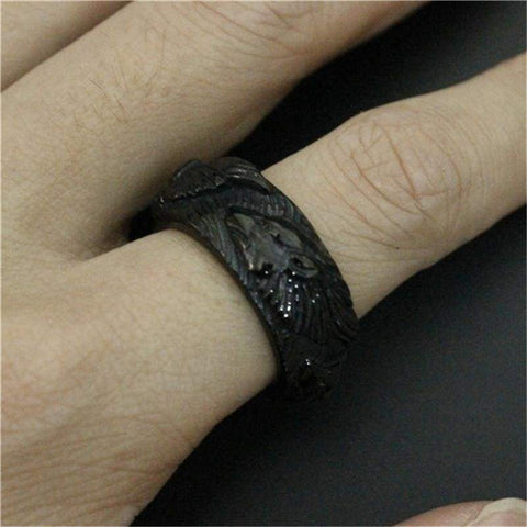 Wolf Ring - Rings Jewelry Rings Vikings
