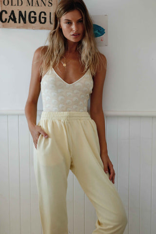 CATERINA TRACK PANT - SUNLIGHT
