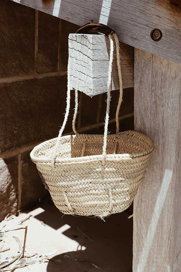 THE BABY BERBER BASKET BAG