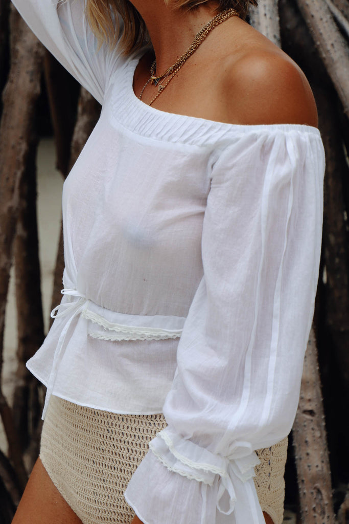 100% ORGANIC COTTON ARDOR BLOUSE