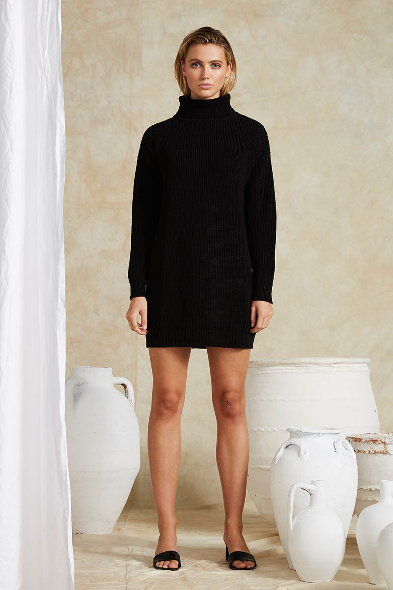 ZARELA KNIT DRESS