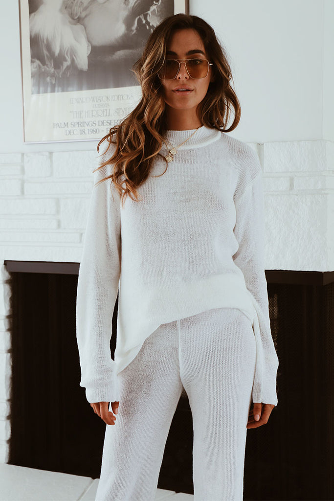 THE NOMADE KNIT PANT