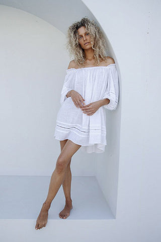 PALMA OVERSIZED MINI - WHITE