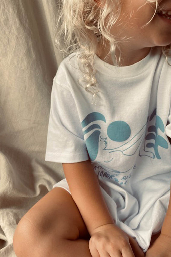 100% ORGANIC COTTON NATURE IN BALANCE KIDS TEE