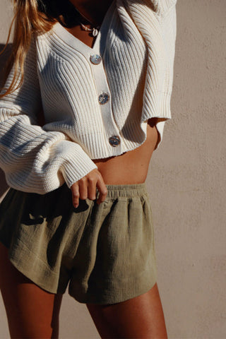 CROPPED LUNAR CARDIGAN